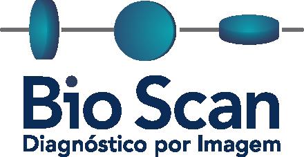 Logo do BioScan, laboratório conveniado ao cartão MedCard