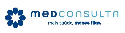 Logo do MedConsulta, clínica conveniada ao cartão MedCard.